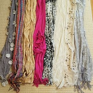 Accessories - Scarves-$40 for all $5 for each
